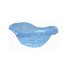 Ванночка детская ЛОТОС, синий прозр. 80х27,7х46,3 (