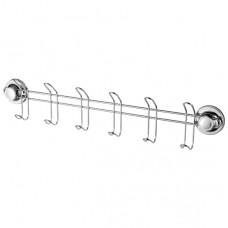 3716-6/L Планка с 6-я крючками на присосках