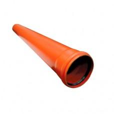 200 труба наружная 1 м (ПВХ, т.4.9мм)