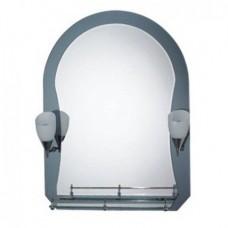 Зеркало  для ванной комнаты (F625)    FRAP   (+2 светильника)