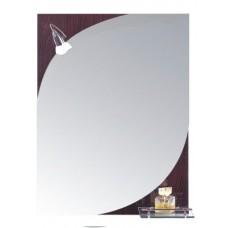 Зеркало  для ванной комнаты (F638)    FRAP   (+ светильник+крепеж)