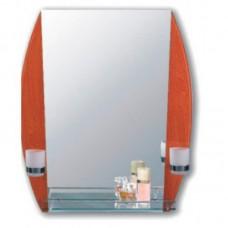Зеркало  для ванной комнаты (F640-37)    FRAP   (+ стаканы)