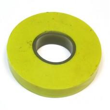 Изолента ПВХ желтая  ЕРМАК (672-003)