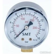 3016N0002V SMT- манометр 16 бар вертикальный 1/4 штуцер