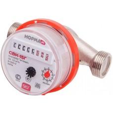 Счетчик воды СВКМ15Г антимагнитный (универсальный, красное кольцо, Ду15, L110, включает КМЧ, 6 лет)