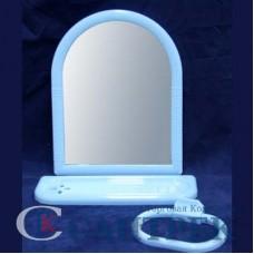 Набор д/ван ком с зерк арка  МАЛАЯ  голубой