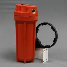 Фильтр магистральный для гор. воды  RAIFIL пласт. красный  3/4