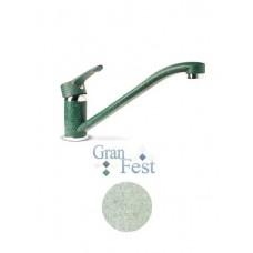 Смеситель Кухня GRANFEST d=35 (салатовый) (0123)
