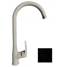 Смеситель Кухня GRANFEST d=35 боковой U - образный (3424) Черный
