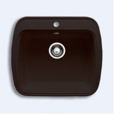 Мойка GRANICOM G-003 (560*495мм), 1 чаша (шоколад-тем.коричневый)