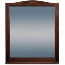 Зеркало ВАРНА 105 (в рамке с полочкой) Орех/Венге (BAS)