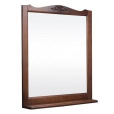 Зеркало ВЕРСАЛЬ 105 (в рамке с полочкой) Орех/Венге (BAS)