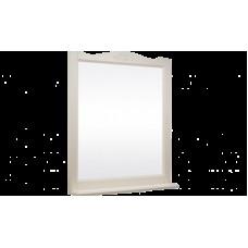 Зеркало ВЕРСАЛЬ 105 (в рамке с полочкой) Слоновая кость/9001 (BAS)