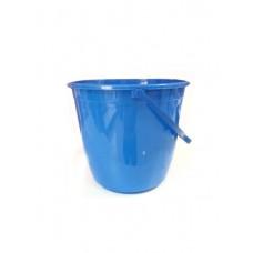 Ведро пластик 10л голубое