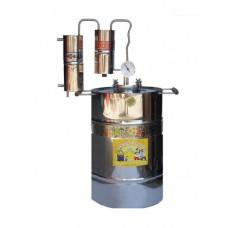 Дистиллятор 15 литров с термометром  и сухопарником