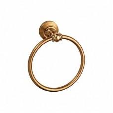 1304R/L Держатель для полотенца кольцо хром (МЕДЬ)