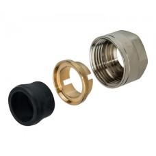 SFC-0023-001520 STOUT Фитинг компрессионный для медных труб 15x3/4