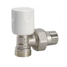 11122100 (67132100) Luxor easy RS 112 1/2'' кран регулирующий угловой для пластиковых труб