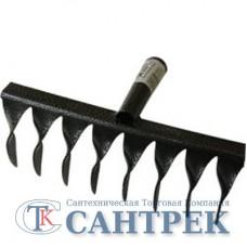Грабли садово-огородные витые  8 зубые б/ч