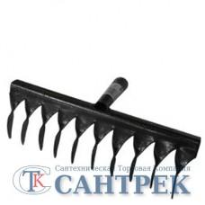 Грабли садово-огородные витые 10 зубые б/ч