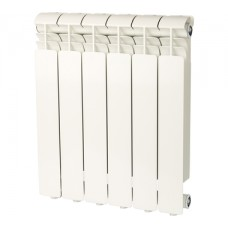 Global ISEO 500 6 секций радиатор алюминиевый боковое подключение