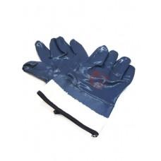 Перчатки БМС синие широкие