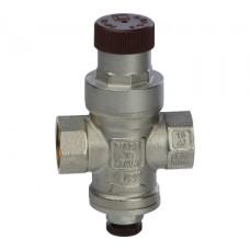 SVS-0010-000015 STOUT 1/2 Редуктор давления с давлением на выходе 1…4 бар с подсоединением для маном