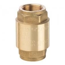 SVC-0001-000020 STOUT 3/4 Клапан обратный пружинный муфтовый с металлическим седлом