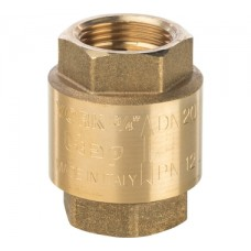 SVC-0002-000020 STOUT 3/4 Клапан обратный пружинный муфтовый с пластиковым седлом