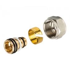 SFC-0022-001620 STOUT Фитинг компрессионный для труб PEX-AL-PEX 16х2,0х1/2