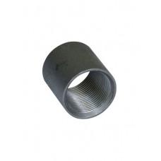 Муфта 40 черн стальная
