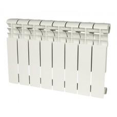 ROMMER Profi 350 (AL350-80-80-080) 8 секций радиатор алюминиевый (RAL9016)